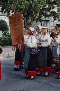 Haapsalu laulupäeva rongkäik 2003